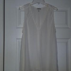 Joie silk blouse or shell vneck